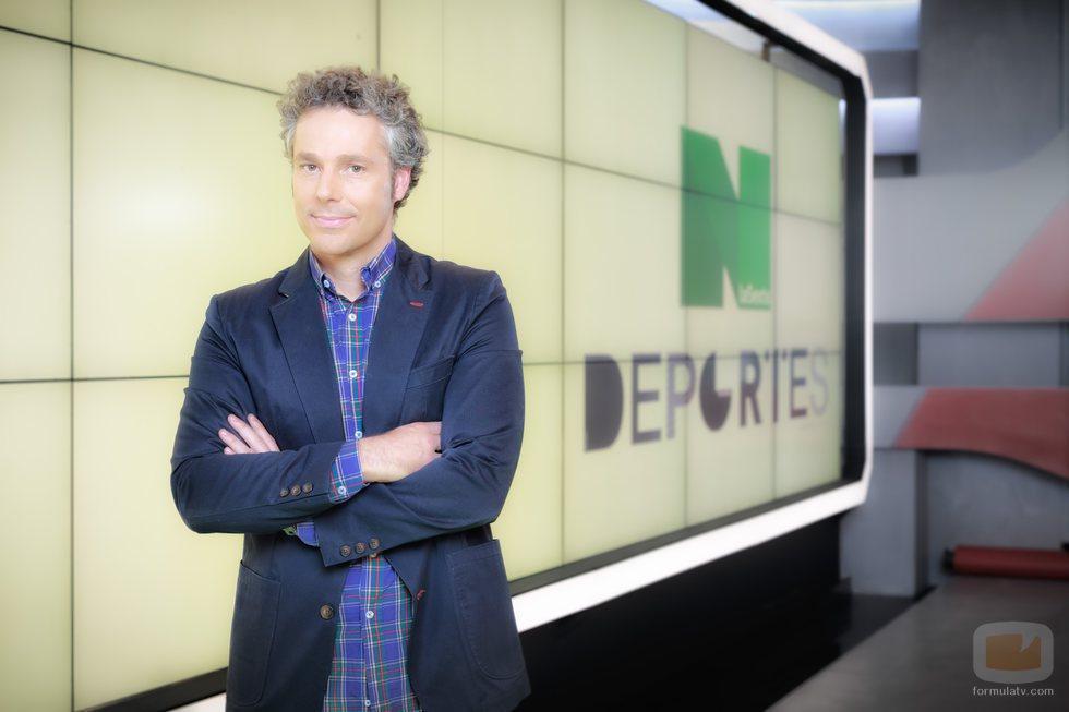 Óscar Rincón, presentador de 'laSexta deportes'
