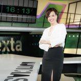 Cristina Villanueva, presentadora de 'laSexta noticias'