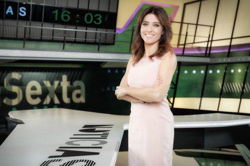 Helena Resano, presentadora de 'laSexta noticias'
