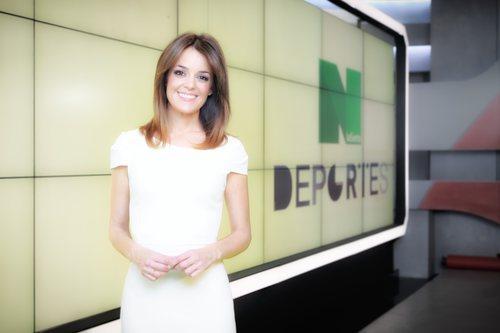 María Martínez, presentadora de 'laSexta noticias'