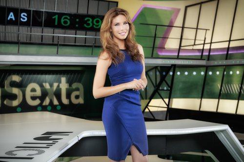Sarai Pérez, presentadora de 'laSexta noticias'