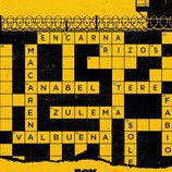Los nombres de las protagonistas de 'Vis a vis', en el póster de la tercera temporada