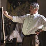 Pablo Picasso pinta en la segunda temporada de 'Genius'