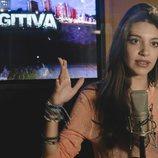 Ana Guerra en la grabación de la sintonía de cabecera de 'Fugitiva'
