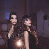 Aitana Ocaña y Ana Guerra, juntas en la promoción de 'Lo malo'