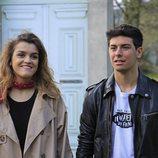 Amaia y Alfred en las Azores con motivo de la grabación de la postal eurovisiva