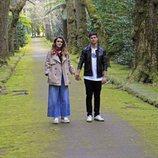 Amaia y Alfred de la mano en su viaje a las Azores para rodar la postal eurovisiva