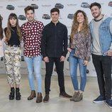 Algunos de los concursantes de 'OT 2017' , nuevos embajadores de Citröen