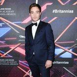 Ed Westwick en los Britannia Awards 2015