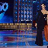 Cristina Pedroche, elegante con un vestido negro en 'Top 50'