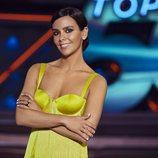 Cristina Pedroche, sonriente en el plató de 'Top 50'