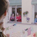 Las vecinas en el primer capítulo de la cuarta temporada de 'Allí abajo'