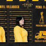 Ficha policial de Anabel en 'Vis a vis'
