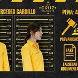 Ficha policial de Mercedes en 'Vis a vis'