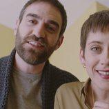 Iñaki y Carmen en el primer capítulo de la cuarta temporada de 'Allí abajo'