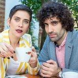 Posado de Yago y Carmen para la cuarta temporada de 'Allí abajo'
