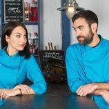 Gotzone e Iñaki, juntos de nuevo en la cuarta temporada de 'Allí abajo'
