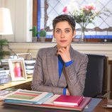 Carmen posa para la cuarta temporada de 'Allí abajo'