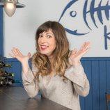 Elisa Lledó posa para la cuarta temporada de 'Allí abajo'