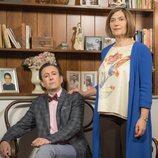 Cristóbal Benjumea y Maritxu posan para la cuarta temporada de 'Allí abajo'