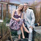 Meredith Monroe y Kerr Smith eran los hermanos Andie y Jack McPhee en 'Dawson crece'