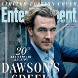 James Van Der Beek en la portada especial de la reunión de 'Dawson crece'