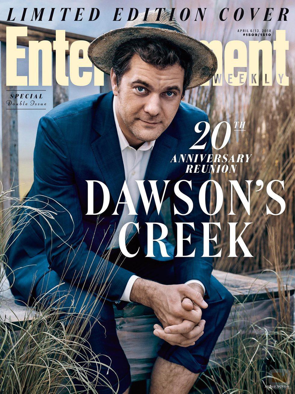 Joshua Jackson en la portada especial de la reunión de 'Dawson crece'