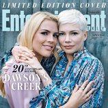 Busy Philipps y Michelle Williams en la portada especial de la reunión de 'Dawson crece'