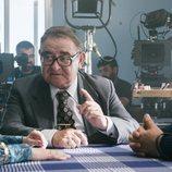 Manuel Lourenzo durante el rodaje de 'Fariña'