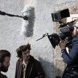 Javier Rey rodando 'Fariña'