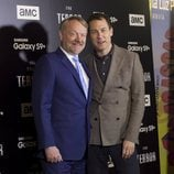 Jared Harris y Tobias Menzies en la presentación de 'The Terror'