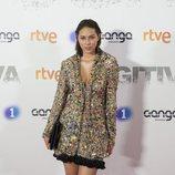 Luisa Rubino posa en la premiere de 'Fugitiva'