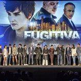 El elenco de 'Fugitiva' presentan la ficción en el cine