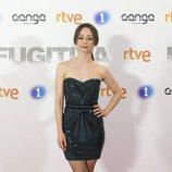 Elena Rivera en el preestreno de 'Fugitiva'