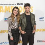 """Amaia y Alfred en la premiere de """"Campeones"""""""