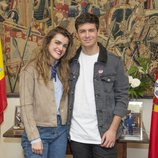 Amaia y Alfred en la embajada de Portugal de Madrid