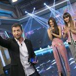 Ana Guerra y Aitana con Pablo Motos en 'El hormiguero'