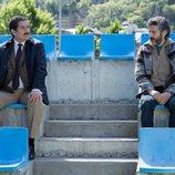 Pedro Casablanc y Leonardo Sbaraglia hablan en 'Félix'