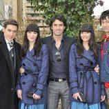 El reparto de 'Mi gemela es hija única' son Raúl Tejón, Alejandra Llorente, Carlos García. Sabrina Praga y Joy Rodríguez