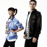 Carlos Martínez y Sara da Pin Up en 'HKM'