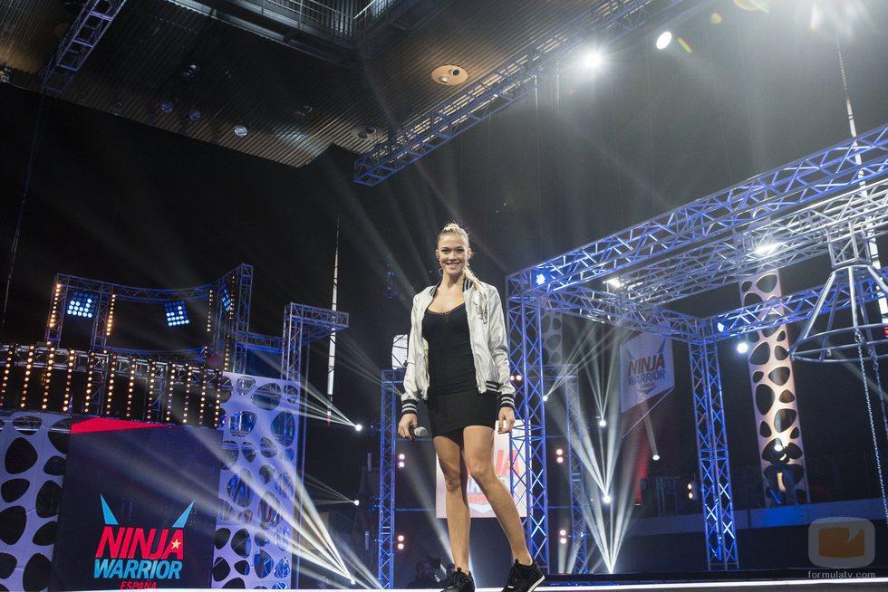 Patricia Montero debuta como presentadora en la segunda edición de 'Ninja Warrior'