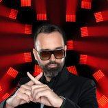 Risto Mejide posa como jurado de 'Factor X'