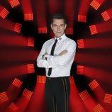 Jesús Vázquez posa como presentador de 'Factor X' en Telecinco