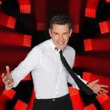 Jesús Vázquez, sonriente presentador de 'Factor X'