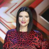 Laura Pausini, en la presentación de 'Factor X'