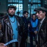 Álex García, Luis Callejo y Franky Martín en 'El Continental'