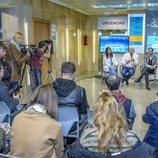 Presentación de Lolita Flores y Elena Furiase en 'Centro médico'