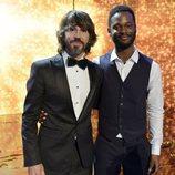Santi Millán y César Bandon, ganador de 'Got Talent España'