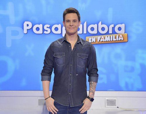 Christian Gálvez, presentador de 'Pasapalabra en familia' de Telecinco