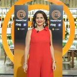 Samantha Vallejo-Nágera posa en la presentación de la sexta temporada de 'MasterChef'